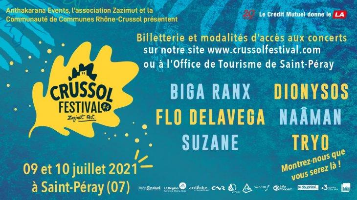 Festival de Crussol édition 2021